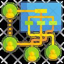 Organization Workflow Organizationdesign Workflow Icon