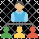 People Hierarchy Organizational Icon