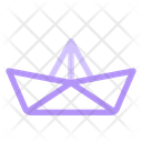 Summer Paper Ship Icon