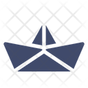 Paper Ship Toy Icon
