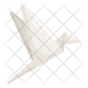 Origami Folded Paper Paper Art Icon