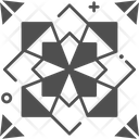 Origami Decoration Celebration Icon