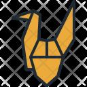 Prototype Bird Origami Icon