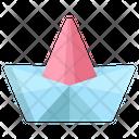 Origami Boat Icon