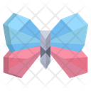Origami Butter Fly Icon