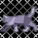 Origami Cat Icon