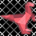 Origami Dinosaurs Icon