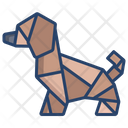 Origami Dog Origami Paper Origami Toy Icon