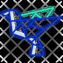 Origami Dove Icon