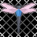 Origami Dragon Fly Icon