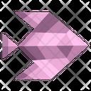 Origami Fish Icon