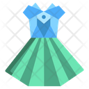 Origami Frock Icon