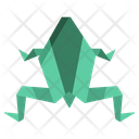 Origami Frog Icon