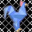Origami Hen Icon