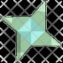 Origami Ninja Icon