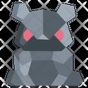 Origami Panda Icon