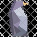 Origami Penguin Icon