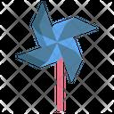 Origami Pin Wheel Icon