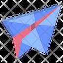 Origami Plane Icon