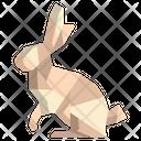 Origami Rabbit Icon