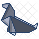 Origami Seal Origami Paper Origami Toy Icon