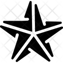 Origami Star Icon