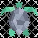 Origami Turtle Icon