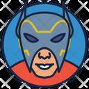 Orion Warrior Superhero Icon