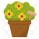 Ornamental Plant Flowers Icon