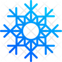 Snow Crystal De Icon