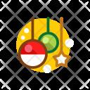 Ornaments Ball Star Icon