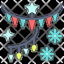 Ornaments Light Star Icon