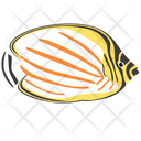 Ornate Butterfly Fish Icon
