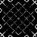 Ornate Design Embroidered Design Floral Design Icon