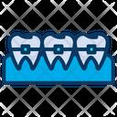Braces Dental Dentistry Icon