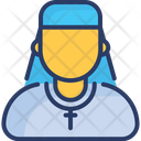 Catholic Person Christianity Father Icon