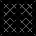 Orthodox Cross Christians Icon
