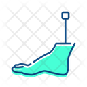 Orthopedic leg Icon
