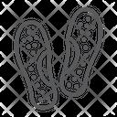 Orthopedic Slippers Icon