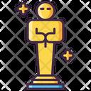 Moscar Award Oscar Award Film Award Icon