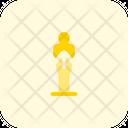 Oscar Trophy Achievement Trophy Icon