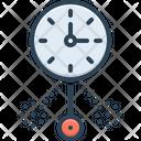 Oscillate Clock Icon