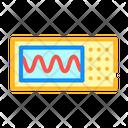 Oscilloscope Measuring Equipment Icon