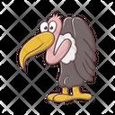 Ostrich Bird Animal Icon
