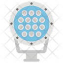Searchlight Beacon Flashlight Icon