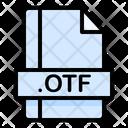 Otf File File Extension Icon