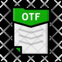 File Otf Document Icon