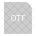 Otf Extension File Icon