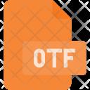 Otf Open Face Icon