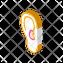 Otitis Disease Isometric Icon
